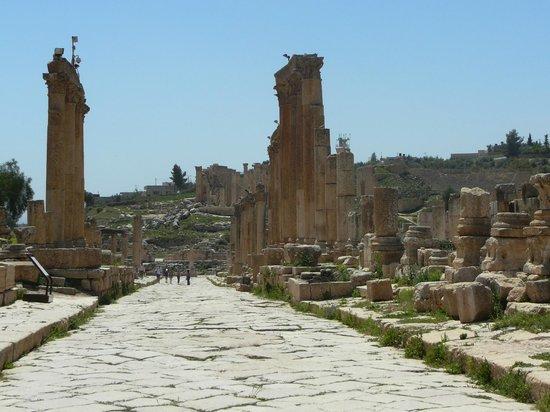 Ruinen von Gerasa: la strada colonnata