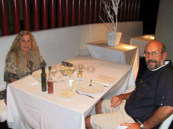 Hotel Porta Fira: Cenando el el Restaurant