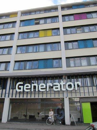 Generator Copenhagen: Facciata dell'ostello