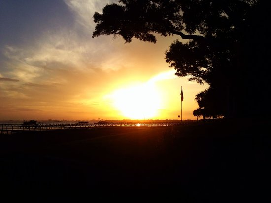 Pitt Street Bridge: Sunset