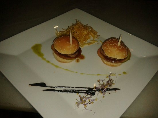 Taberna Hita: Tapa de hamburguesita