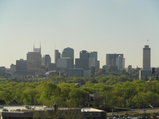 Millennium Maxwell House Nashville: View of Nashville from the top floor