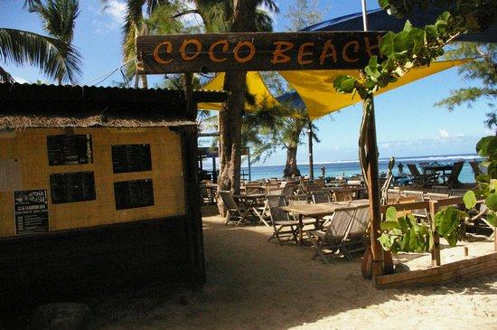 L'Hacienda - Coco Beach: autre entrée du restaurant