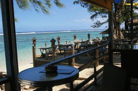 L'Hacienda - Coco Beach: vue sur la plage