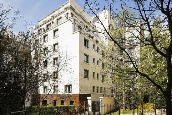 Hotel Villa Saxe Eiffel : Villa Saxe Eiffel-Façade jour