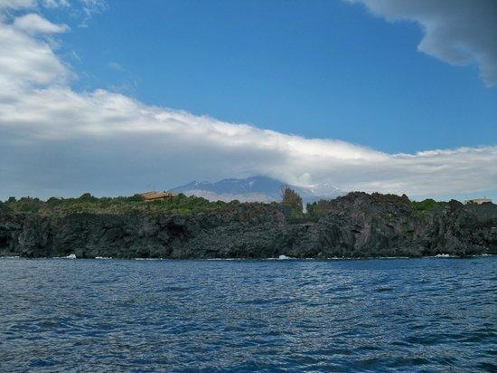 Il Faro diving center: Scogliera