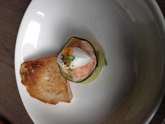 The Disgruntled Chef: Salmon parfait