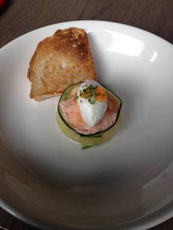 The Disgruntled Chef: Salmon parfait
