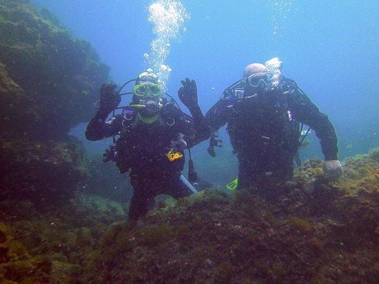 Il Faro diving center: Io ed il buon Salvo