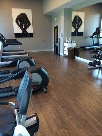 SpringHill Suites Denver Downtown: Nice clean and new exercise room