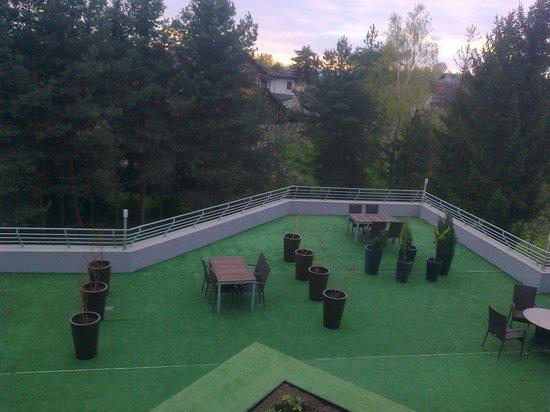 Villa Zakamycze: The garden