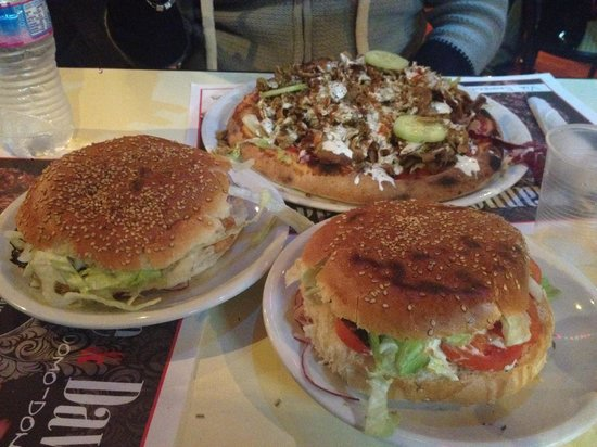 Solleòne : Pizza kebab e principe