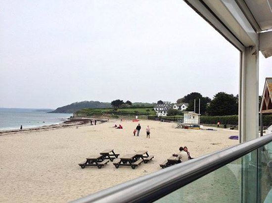 Gylly Beach Cafe: View from our table