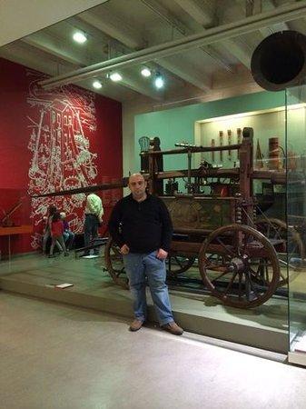 Technisches Museum: fireman