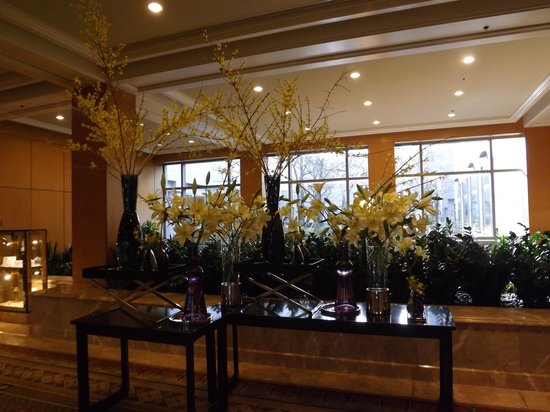 The Logan Philadelphia, Curio Collection by Hilton : Flowers are fresh and are refreshed regularly