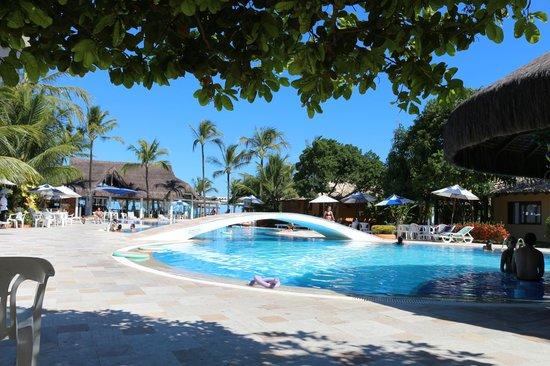 Mar Paraiso Resort: Visão da Piscina