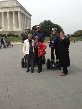 Bike and Roll DC: We were celebrities with Chinese tourists