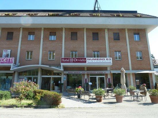 Hotel Orvieto: Indgansparti