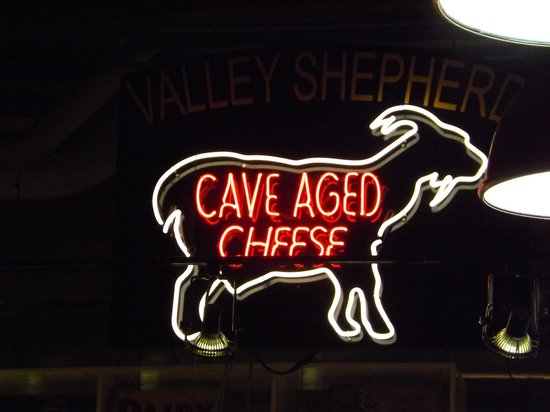 Reading Terminal Market: Cave aged goat cheese. Does it get more esoteric?