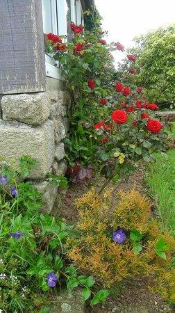 Auberge de Keralloret : beau jardin