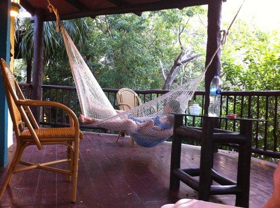 Bel Air Collection Xpu Ha Riviera Maya: Excelente area de terraza, muy comoda