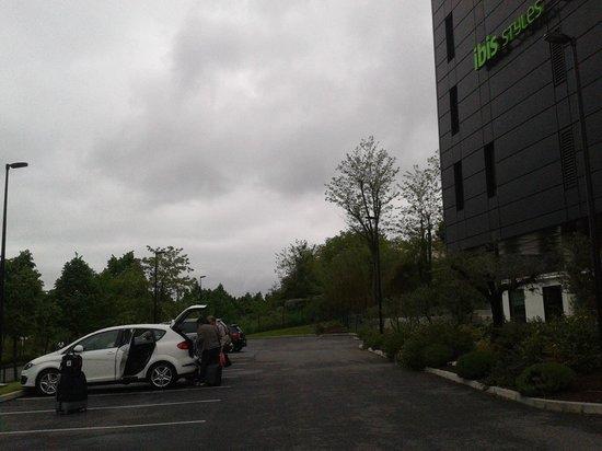 Ibis Styles Toulouse Cite Espace Hotel: Parking gratuito