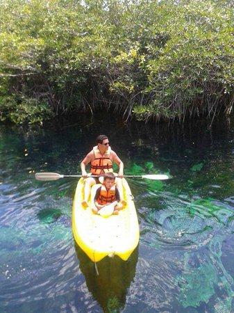 Bel Air Collection Xpu Ha Riviera Maya: La experiencia de Kayak inluido fue muy relajante