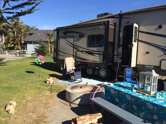 Pismo Coast Village RV Resort: Our campsite