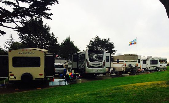 Pismo Coast Village RV Resort: Typical campsite