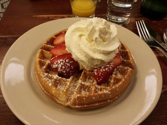 The Smith: Buttermilk waffles!