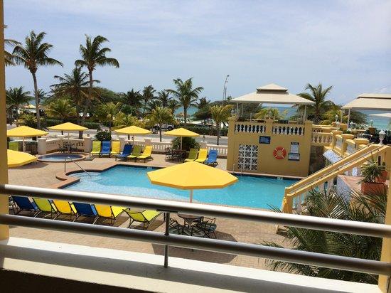 Amsterdam Manor Beach Resort : View from suite 208