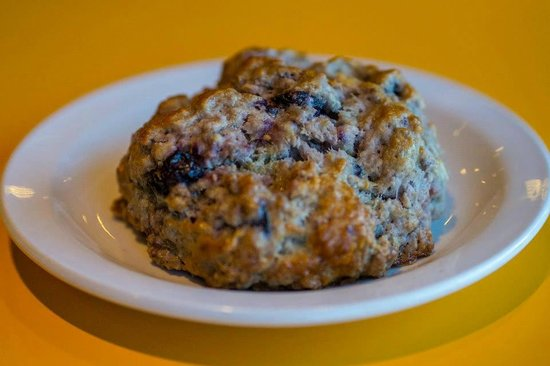 Cafe 326: Blueberry Scone