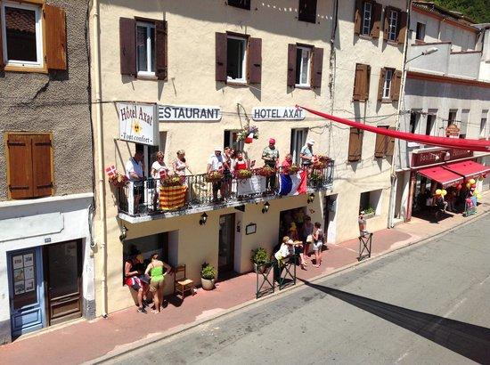 Hotel Axat at Tour de France 2013