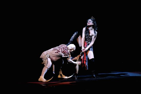 The House of Dancing Water: David Lebel as Yago & Monique Chanel Pitsikas as Dark Queen
