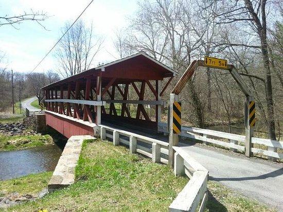 Bedford County Covered Bridge Driving Tour: 7. Colvin CB.