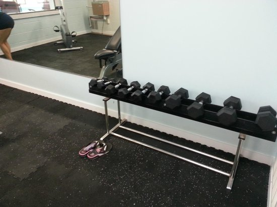 Red Roof Inn Staunton: dumbells