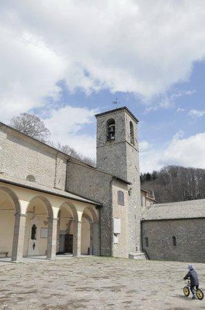 Museo della Verna : L'accoglienza