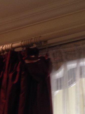 Taj SMS Hotel: curtains