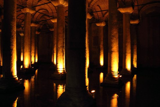 Citerne Basilique (Yerebatan Sarnıcı) : Cisterna Basilica