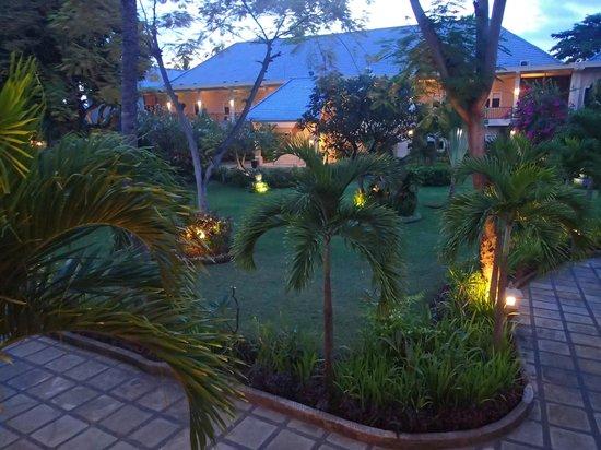 The Lovina: hotel grounds