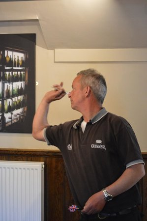 The Baker's Arms: Dart's board freely available - with Dart's Club on Friday evening