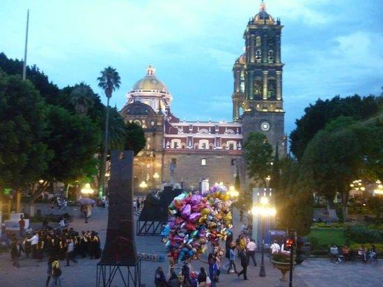 Zocalo : El Zócalo de Puebla