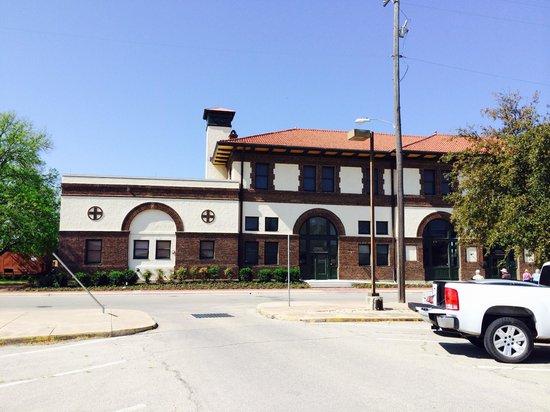 Temple Railroad & Heritage Museum: Train depot