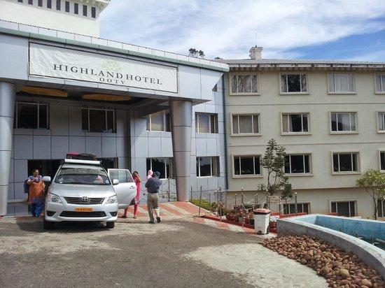 Accord Highland Hotel Ooty: Entrance