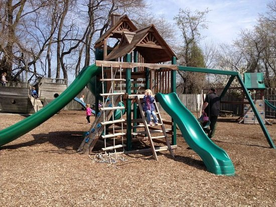 Mullica Hill, Nueva Jersey: The play area