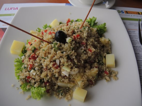 Luna Runtun, Adventure SPA: Quinoa salad