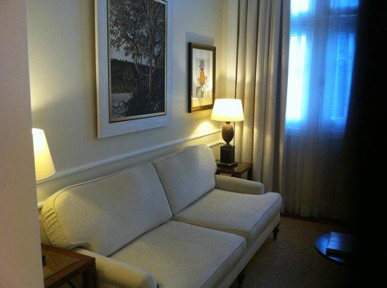 Belmond Copacabana Palace: Sofá/Sofa