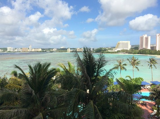 Hilton Guam Resort & Spa: View of Tumon Bay from my room