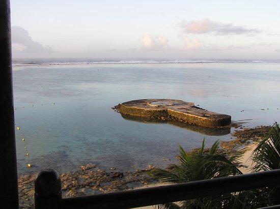 Le Peninsula Bay Beach Resort & Spa: Sur le balcon, à l'aurore