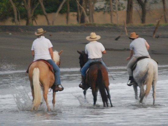 Casagua Horses Tours: Riding Pacific beaches